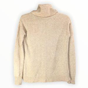 J Crew Turtleneck Wool Sweater